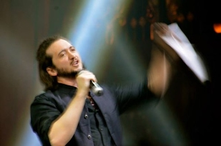 Lee Camp at United We Stand (Photo by M.C.)