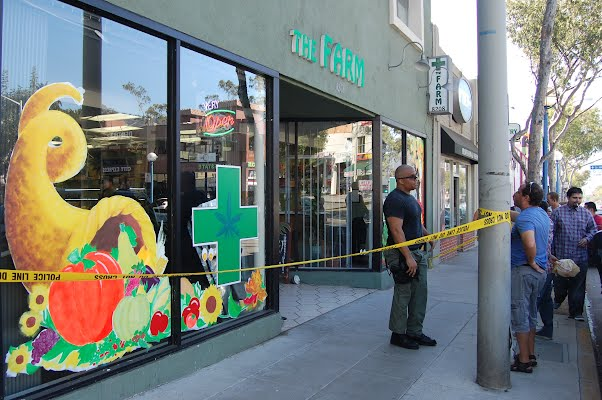 October 23, 2014 DEA raid of The Farmacy cannabis patient collective (West Hollywood, CA)